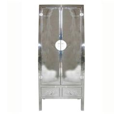 Canton Silver Cabinet Decor, Lockers, Storage, Silver Cabinets, Locker Storage, Furniture, Home Decor, Steel