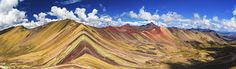 Vinucunca (Rainbow Mountain) - PERU. Photo by Eric Hanson