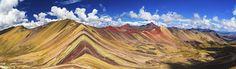 Vinucunca (Rainbow Mountain) - PERU. Photo by Eric Hanson