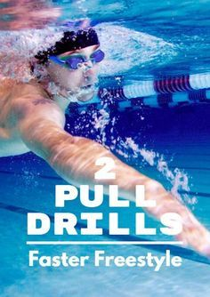 Try kicking on your sides if you need help getting balanced. 2 Pull Drills for Faster Freestyle Swimming Drills, Swimming Gear, Open Water Swimming, Swimming Games, Lap Swimming, Competitive Swimming, Triathlon Training Program, Sprint Triathlon, Ironman Triathlon Motivation