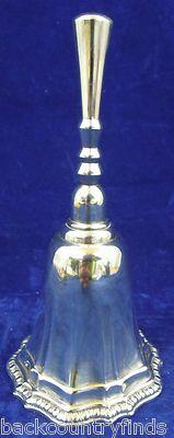 Silver Pâté Fluted Dinner Bell