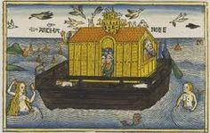 Noah's Ark, illustration from the Nuremberg Bible, 1495