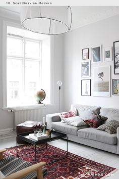 Identifying 12 of the Most Popular Interior Design Styles: Scandinavian Modern   Rue