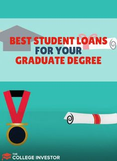 We break down the best student loans and best ways to pay for graduate school - so you can know what your options are to make it affordable. Best Student Loans, Apply For Student Loans, Student Loan Payment, Paying Off Student Loans, Scholarships For College, Education College, College Students, School Loans, Best Online Colleges