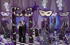 The colors of the party will be black, purple and silver.