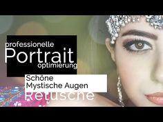 Augen Retusche ★Mystische Augen★  Photoshop Tutorial Deutsch   - YouTube