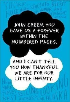 John Green knows how to hit a person right in the feels