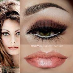 Sophia Loren   Makeup Inspiration