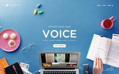 Create Your Own Voice #Squarespace