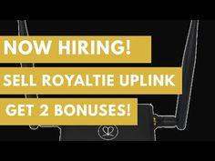Now Hiring! Sell Royaltie Uplink And Get $1k Bonus! - YouTube Advertising, Motivation, Business, Youtube, Things To Sell, Daily Motivation, Youtube Movies, Determination