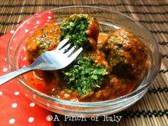Polpette di Quinoa e Spinaci al Sugo