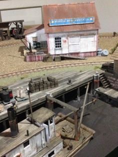Riverton Marine Mercantile and Wharf - On30 Modular RR by Kevin Spady
