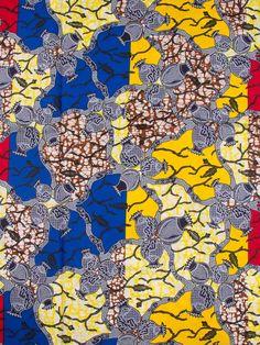 wax africain super prestige haute qualite au motif fleurs et feuilles  sw8009311