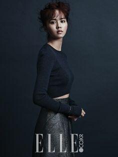 Kim So Hyun - Elle Magazine October Issue '14