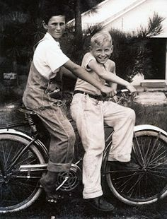 Leaves & Branches: Wordless Wednesday: Fun on a Bike #genealogy