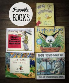 Five Great Children's Books, my 2 1/2 year old can't get enough of them