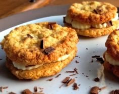 Galettes suédoises, cream cheese et chocolat blanc - Sharing cuisine Lyon, Bagel, Muffin, Bread, Cookies, Breakfast, Desserts, White Chocolate, Flat Cakes