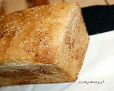 Proste Potrawy: Chleb orkiszowy -pyszny Bread Recipes, Banana Bread, Keto, Food, Essen, Bakery Recipes, Meals, Yemek, Eten
