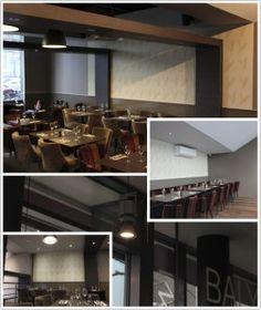 Toile murale et protection acoustique dans un restaurant  le « Balyan »