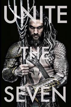 Jason Momoa como Aquaman en 'Batman V Superman: Dawn of Justice'