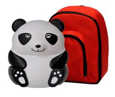Nebulizador Pediátrico Oso Panda.  Diseño amigable para niños. Fácil de utilizar Silencioso compresor duradero motor de pistón incluye chupete para mayor comodidad de los niños. Liviano, con estuche para transportarlo.