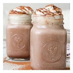 Spiked Cinnamon Hot Chocolate foodgawker ❤ liked on Polyvore featuring food, backgrounds, food and drink, drinks and images