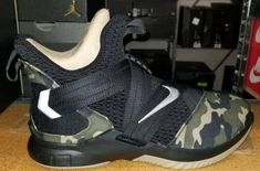 e2de7a20a827 Release Date  Nike LeBron Soldier 12 SFG Camo Above you will get a first  look