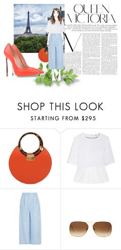 """""""Untitled #432"""" by debysilviaa on Polyvore featuring Victoria Beckham, Lonely Planet, Fairchild Baldwin, J Brand, Vionnet and Casadei"""
