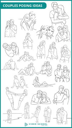 25 poses for Couples