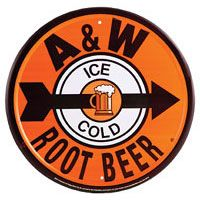 A & W Root Beer Reproduction Ad Tin Sign: Reproduction tin signs are just what you need to create a retro decor in your home or business. Add to your collection or start a new one with an A & W Root beer Metal Sign. Advertising Signs, Vintage Advertisements, Vintage Ads, Retro Ads, Vintage Style, Vintage Tools, Antique Signs, Vintage Metal Signs, Diner Sign