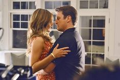 black and white - Stana Katic as Kate Beckett and Nathan Fillion as Richard Castle - Castle Castle Series, Castle Tv Shows, Julie Andrews, Julia Roberts, Stana Katic, Angelina Jolie, Audrey Hepburn, Marilyn Monroe, Detective