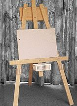 How to build a kids multipurpose easel free plans from BuildEazy Woodworking Crafts, Woodworking Plans, Diy Busy Board, Diy Whiteboard, Diy Easel, Clever Inventions, Crafts For Kids To Make, Kids Diy, Homemade Crafts