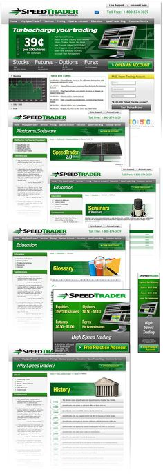 Forex introducing broker website design