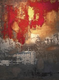 Remnants XII by Jason Lincoln Jeffers - oil painting on paper 2012