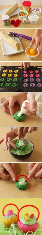 joysama images: Easter Basket Cookies