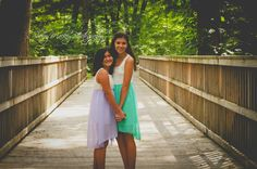 Sister pose..Dresses by be inspired boutique http://www.beinspiredboutique.com/default.asp
