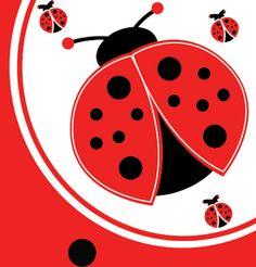 #Printable #Baby #Shower Cute Ladybug Theme Set  #COUPON CODE FOR THEME PACKS: babyshower2013