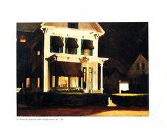 Rooms for Tourists - Edward Hopper - Fine Art Print - 1989 Vintage Book Page Reproduction - 8 x 9.5