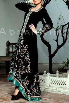 This looks like a cross between a desi outfit and an abaya. So obviously I am #obsessed