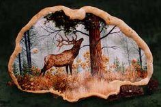 artist conk painted Elk