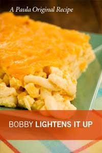 Bobby's Lighter Cheesy Mac