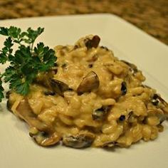 Mushroom & Pepper Risotto: I would use brown rice & coconut/almond milk