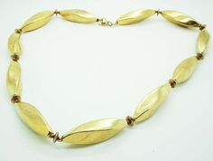 Gold color necklace. Simple, chic and affordable.