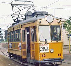 Turku, Finland trolley