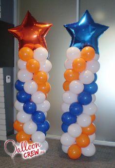 #balloon #balloons #decor #balloondecor #partydecor #latex #qualatex #column #ballooncoulmn
