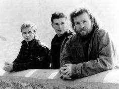 A-ha, Left to right: Pal Waaktaar-Savoy, Morten Harket and Magne Furuholmen.