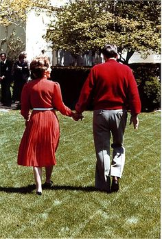 Nancy + Ronald Reagan