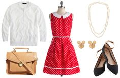 Fashion inspired by the Disney movie Saving Mr. Banks set in 1960s (with 1900s flashbacks) – Disney outfit