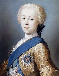 Rosalba Carriera: Bust of Prince Charles Edward Stuart.