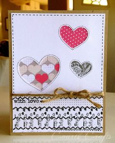 Court's Crafts: Today's Daily SPS Inspiration from Court - Valentine Card